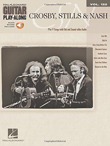 Crosby, Stills & Nash: Guitar Play-Along Volume 122 by Hal Leonard