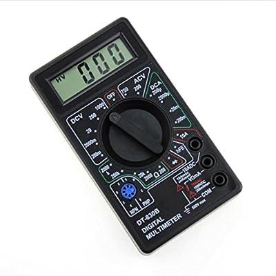 DT830B LCD Digital Multimeter Voltmeter Ammeter AC DC Voltage Resistor Diode Circuit Tester