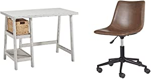 Signature Design by Ashley Mirimyn Home Office Small Desk Multi & Design by Ashley Office Chair Program Home Office Swivel Desk Chair Multi