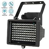 KKmoon 96 LEDS IR Illuminator Array Infrared Lamps Night Vision Outdoor Waterproof For CCTV Security Camera