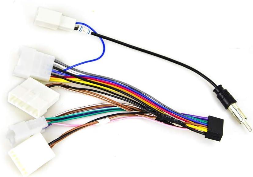 Cable de arnés de Cables de alimentación de Radio estéreo ...