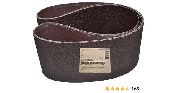 6er-Set Klingspor Tissue Grinding Belt Sander Belts CS411X 50x686 mm for choice