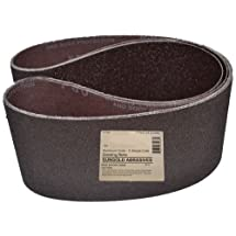 Sungold Abrasives 35166 6-Inch by 48-Inch 80 Grit Sanding Belts Premium Industrial X-Weight Aluminum Oxide, 3-Pack