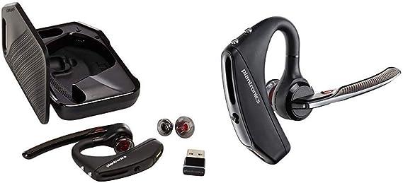 Amazon Com Plantronics Voyager 5200 Wireless Bluetooth Headset Voyager 5200 Uc 206110 01 Advanced Nc Bluetooth Headsets System