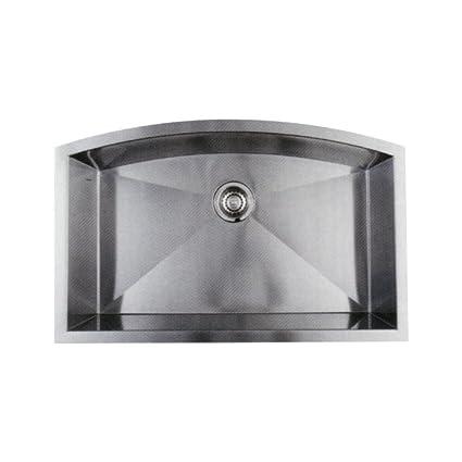 Blanco 516095 Arcon Super Single Bowl Undermount Sink, Stainless Steel