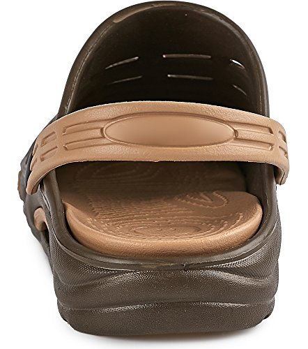Ladeheid Beige KL030 EVA Brown Clogs PRPCOwx1