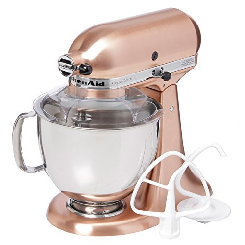 KitchenAid KSM152PSCP Satin Copper 5-quart Custom Metallic Tilt-Head Stand Mixer by KitchenAid