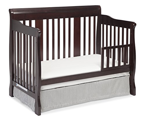 Serta Infant Toddler Mattress Stork Craft Tuscany 4-in-1 Convertible Crib, Cherry | Home & Kitchen ...