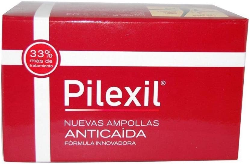 LACER PILEXIL Tratamiento Anticaída 15 AMPOLLAS + REGALO CHAMPU ANTICAIDA 100ml
