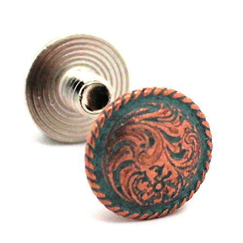 Chicago Screws Copper Patina Plated 3/16