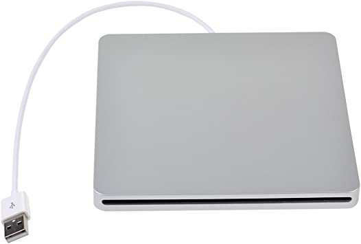 Ranura en USB Slim SATA Externo DVD/RW Grabador de Unidad óptica Grabador de Caja Caddy para Apple iMac/Macbook / Macbook Pro/Mac Mini Superdrive: Amazon.es: Electrónica