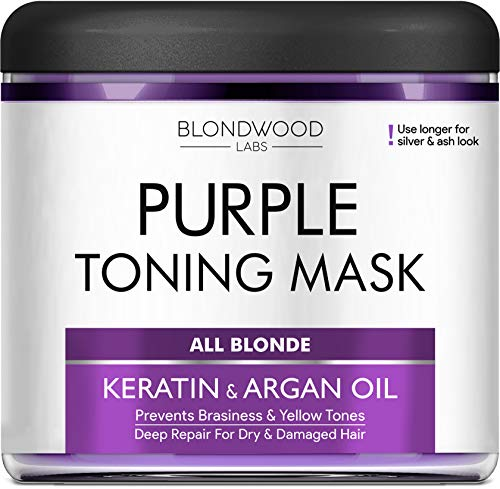 Purple Hair Mask with
