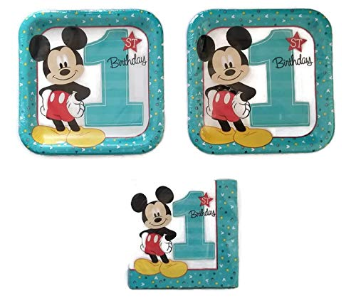Mickey Mouse 1st Birthday Party Bundle 9