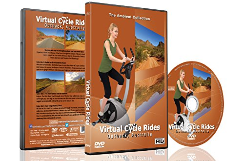 Virtual Cycle Rides - Outback Australia for Indoor Cycling Treadmill and Running (Womens Health Train)