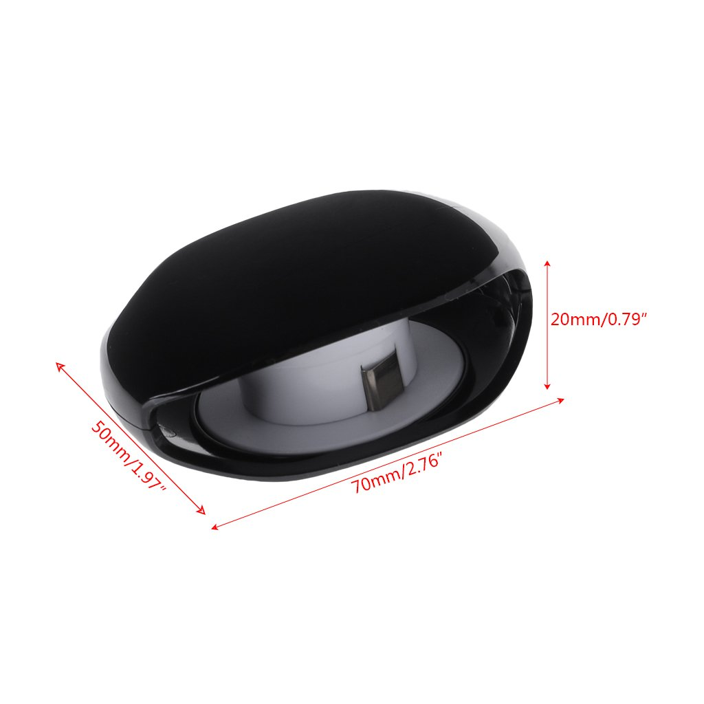 Forgun 2018 Super Cord Tangle Free Portable Manager New Black White Colors (Black) by Forgun (Image #2)
