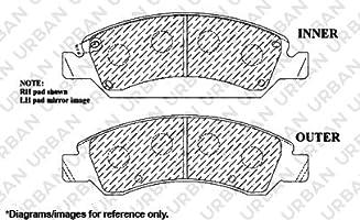 Reliance *OE REPLACEMENT* Brake Rotors *Plus Ceramic Pads C1748 FRONT+REAR KIT