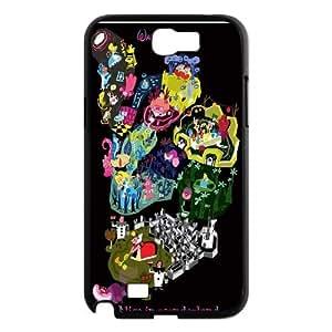 FOR Samsung Galaxy Note 2 Case -(DXJ PHONE CASE)-Cheshire Cat - Alice in Wonderland-PATTERN 3