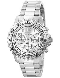 Invicta INVICTA-6620 Reloj para Hombre, Redondo, Análogo, color Plata