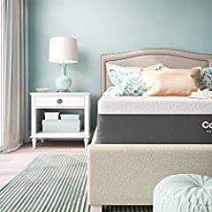Get the luxury you crave and the ultimate sleep experience that you deserve with Classic Brands 12-Inch Cool Gel Memory Foam Mattress. This luxurious mattress is beautifully tailored with a knit fabric cover with waterfall edges and charcoal...