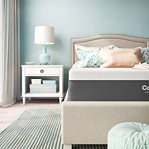 Classic Brands Cool Gel and Ventilated Memory Foam 12-Inch, CertiPUR-US Certified Mattress, Full, White