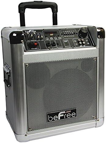 beFree Sound BFS-4505 Sleek Professional Portable Bluetooth PA Speaker