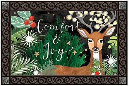 Studio M MatMates Comfort and Joy Doormat – 18 x 30