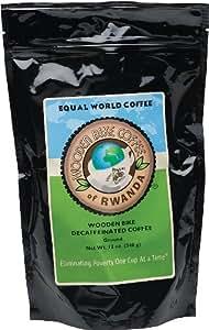 Wooden Bike Coffee Decaf Ground 12oz