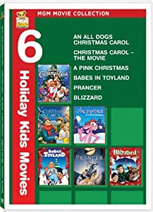 MGM Movie Collection (An All Dogs Christmas Carol / Christmas Carol: The Movie / A Pink Christmas / Babes in Toyland / Prancer / Blizzard)