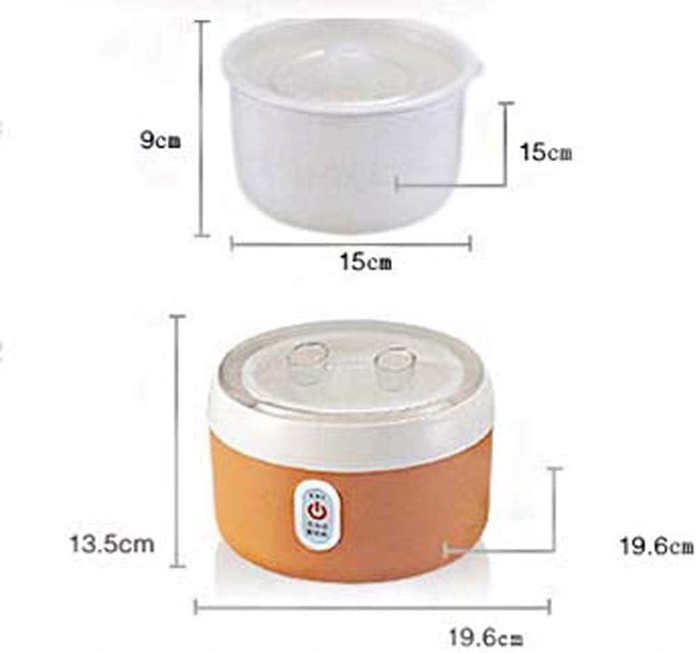 ZXL Macchina Automatica per Yogurt , Fodera in Materiale in Acciaio Fodera in Acciaio sicura e Durevole, Facile da Pulire capacità 1,2 l (Colore: Arancione) Green