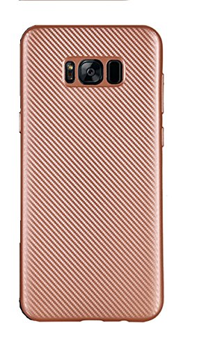 Click to buy Galaxy S8 Case (2017) - Protective Carbon Fiber Style TPU | Great Grip Shock Absorbing Slim AMAZING Value! Resistant Cover Bumper for Samsung Galaxy S8 (Rose Pink) - From only $21.9