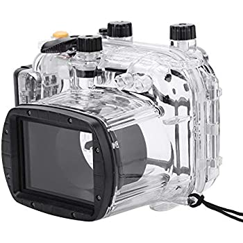 Amazon.com: Canon WP-DC34 la carcasa submarina para cámara ...