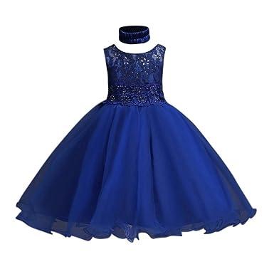 Hougood Mädchen Prinzessin Kleid Tanz Kostüme Tanzbekleidung ...