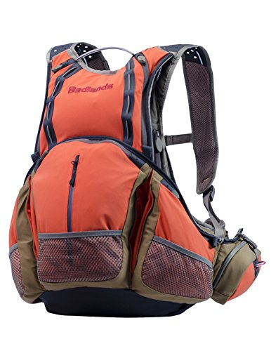 Badlands Upland Hunting Vest with Game Bag - Hydration Compatible - For Bird Hunting (Best Upland Hunting Strap Vest)