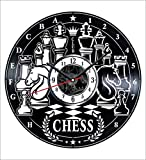 Chess Wall Clock Vintage Record - Get Unique Home