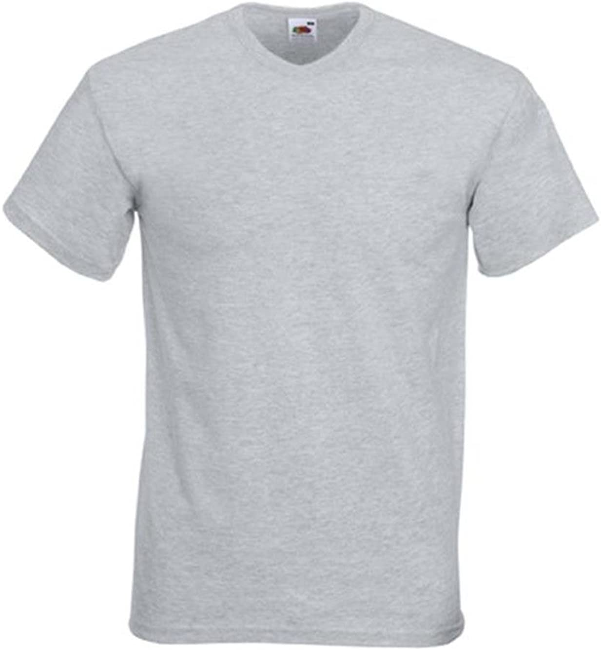 T-Shirt Uomo Valueweight Scollo A V Fruit of The Loom
