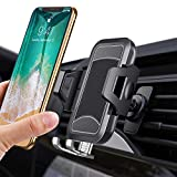 itaomi [Totally Upgrade Safe Clip Patent] Air Vent Car Phone Mount, Universial Smartphone Cell Phone Holder Compatible with iPhone XS XS Max XR X 8 8+ 7 7+ SE 6s 6+ 6 5s 4 Samsung Galaxy S10 S9 S8 etc