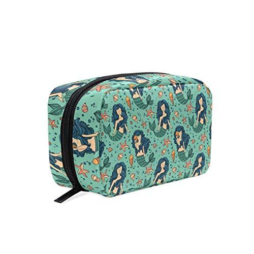 The Bag Avon It (Makeup Bag Starfish Mermaid Girls Travel Cosmetic Bag Womens Toiletry Organizer)