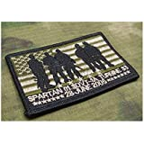 Multicam Mark SEAL TEAM Operation Red Wings Lone Survivor Spartan 01 SDVT-1A Embroidery Morale Patch Hook Backing