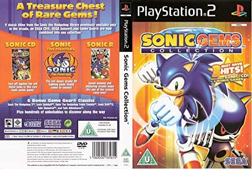 Sonic Gems Collection By Sega 2005 Playstation 2 Buy Online At Best Price In Uae Amazon Ae