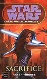 Star Wars, tome 98 : Sacrifice (L'héritage de la Force 5) par Karen