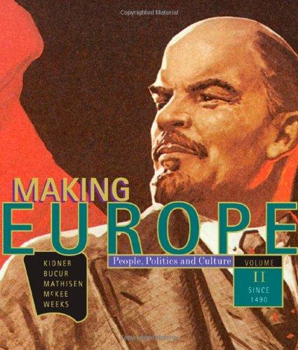 Making Europe:Volume 2