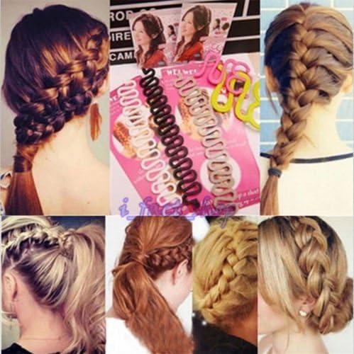 6PCS OPCC Fashion French Hair Styling Clip Stick Bun Maker Braid Tool Hair Ac...