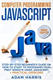 Computer programming Javascript: step-by-step beginner s guide on how to start to programm your first website using Javascript + practical exercises