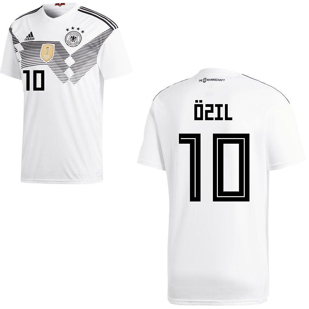 Adidas DFB - Maglia da da da calcio della Germania, per partite in casa, WM 2018, da uomo e bambino, con nome del giocatore, Özil, S | Nuovi prodotti nel 2019  | On-line  | Colore molto buono  | Non così costoso  | Caratteristico  611937