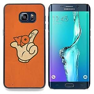 - Yo Hand Sign Thumb Slogan Finger Poster - - Monedero pared Design Premium cuero del tir???¡¯???€????€??????????&fno