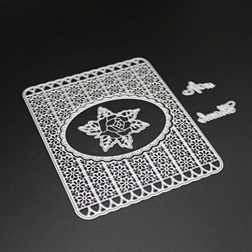 2019 Newest Metal Die Cutting Dies, Farley Handmade Stencils Template Embossing for Card Scrapbooking Craft Paper Decor by E-Scenery (C)