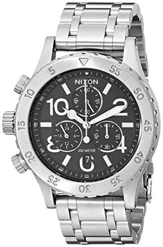Nixon Women's A404000 38-20 Chrono Watch, Black
