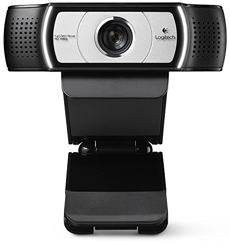 Logitech C930e USB Desktop or Laptop Webcam HD 1080p Camera(Certified Refurbished)