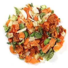 These blends offer different combinations of mixed dried vegetables such as carrots, dehydrated onion, potatoes, peas, tomatoes, celery flakes, bell peppers, parsley and green beans and can be used in soups, stews and other dishes calling for...