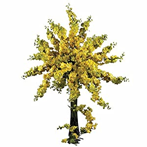 Yellow Delphinium Silk Stems - 38.5 Inches - Set of 12 13